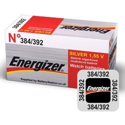 Energizer Silver Oxide Battery E392 392/384 (SR41)