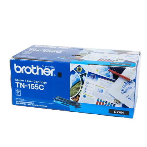 Brother TN-155C Cyan Toner Cartridge