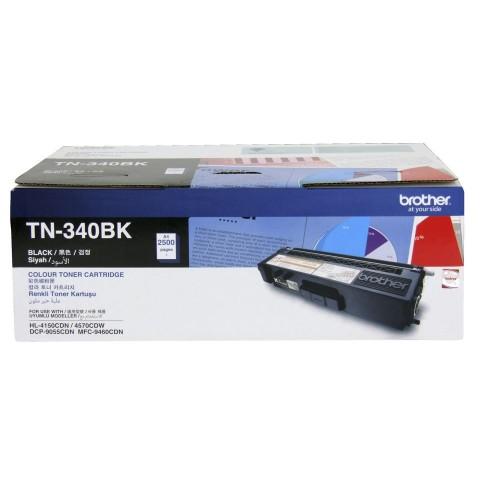 Brother TN-340BK Black Original Printer Toner Cartridge