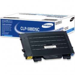 Samsung CLP-500D5C Cyan toner cartridge