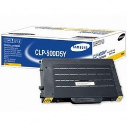 Samsung CLP-500D5Y Yellow toner cartridge