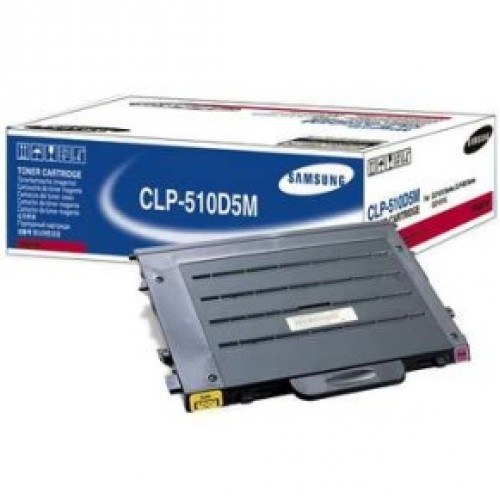 Samsung CLP-510D5M Magenta toner cartridge