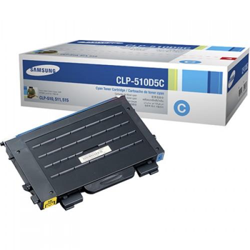 Samsung CLP-510D5C Cyan toner cartridge