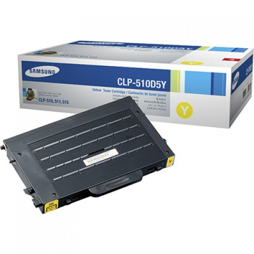 Samsung CLP-510D5Y Yellow toner cartridge