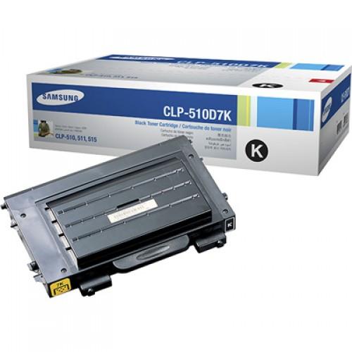 Samsung CLP-510D7K Black Toner Cartridge