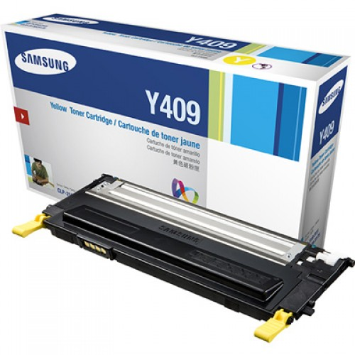 Samsung CLT-Y409S Yellow Toner Cartridge
