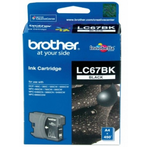 Brother Ink Cartridge LC-67BK Black