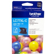Brother LC-77XLC Ink Cartridge Cyan