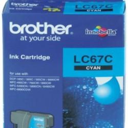 Brother Ink Cartridge LC67C Cyan