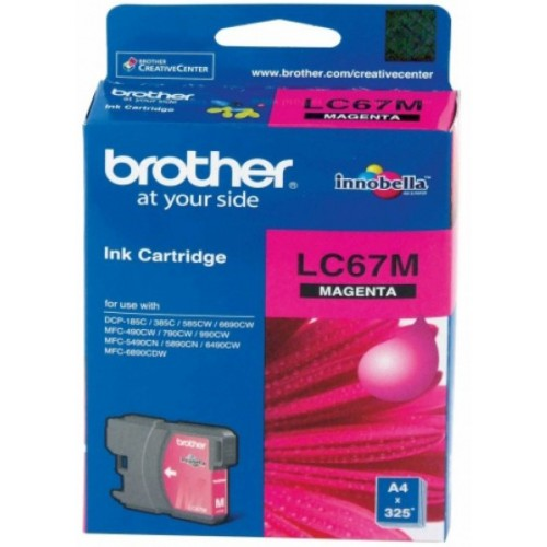 Brother Ink Cartridge LC67M Magenta