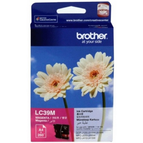 Brother Ink Cartridge LC39M Magenta