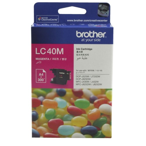 Brother LC-40M Ink Cartridge Magenta