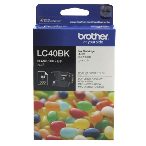 Brother LC-40BK Ink Cartridge Black