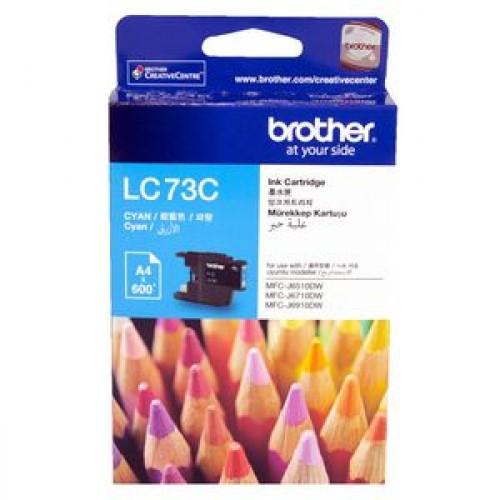 Brother LC-73C Ink Cartridge Cyan