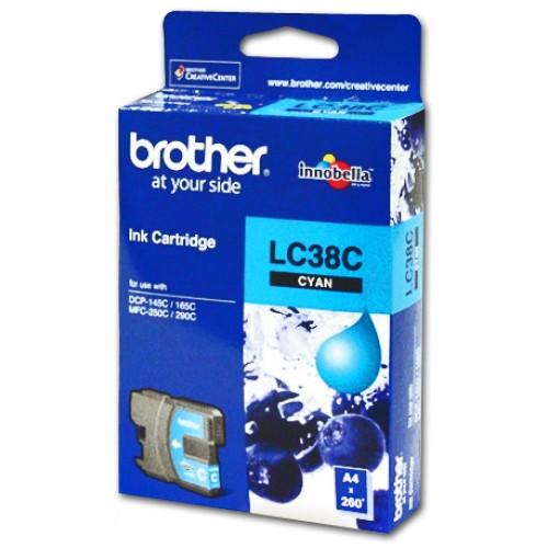 Brother Ink Cartridge LC38C Cyan