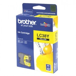Brother Ink Cartridge LC38Y Yellow