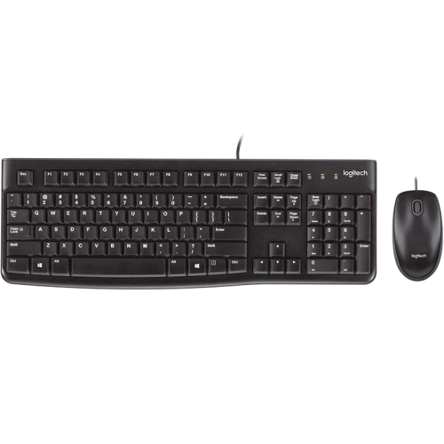Logitech Wired USB Keyboard and Mouse MK120
