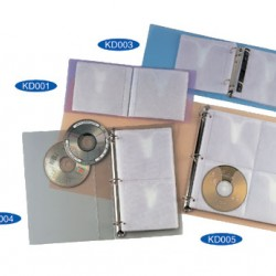 Kam K004Cd Cd/Dvd Holder Refill (5s)