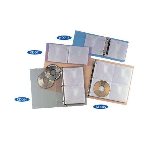 Kam K004Cd Cd/Dvd Holder Refill (5s)