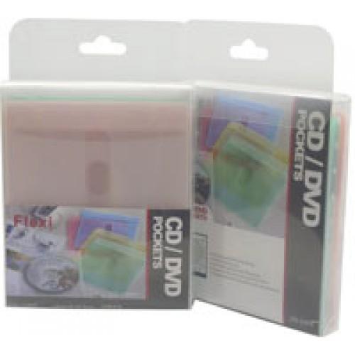 25PP CD/DVD Refill Sleeve