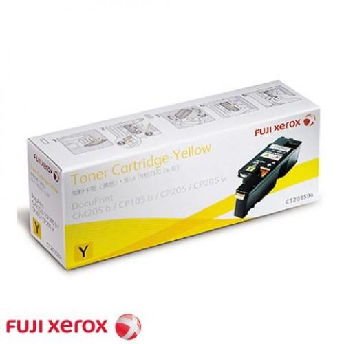 Xerox Toner Cartridge CT201594 (CM205b / CP105b) Yellow
