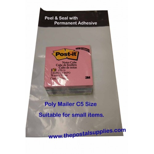 Plastic Envelope #S 150x230mm (C5)