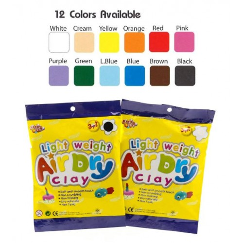 Kiddy Light Weight Air Dry Clay (5 packs)