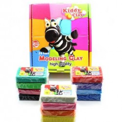 Kiddy Plasticine Clay 24 Pieces in Display Box