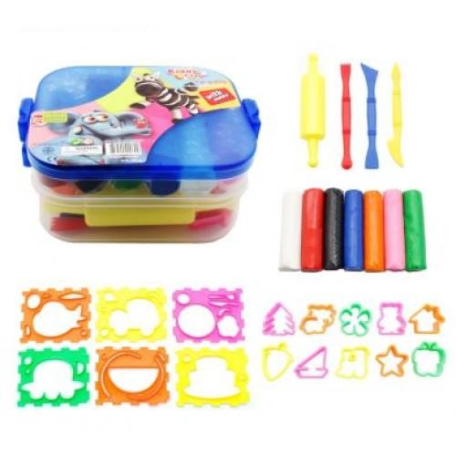 Kiddy Plasticine Clay PX-380-7+16