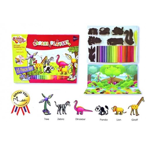 Kiddy Plasticine Clay ST500-24-+7B(S)