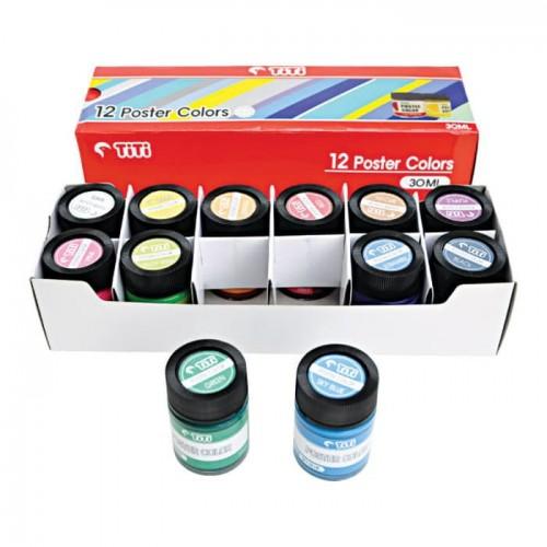 TiTi Poster Colour 30ml (Box of 12)