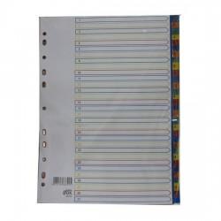 PP Plastic Colour Divider Nos.1-31