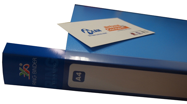 HK OB430 0-Ring File A4 with Spine Insert