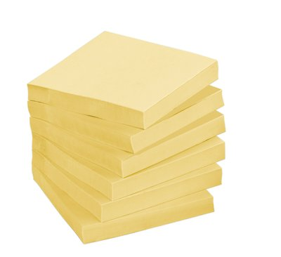 3M 654CY Post-it Note Cannery Yellow
