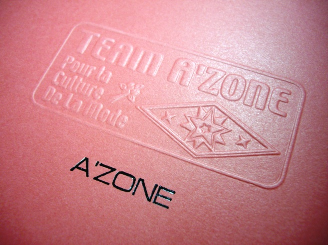 Team A'zone best selling hardcover ringfix notebooks