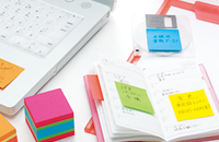 3M 2051-OCW Post-it Notes Mini Cubes
