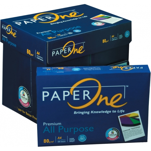 a4 80gsm paperone blue all purpose copy paper  5 reams per